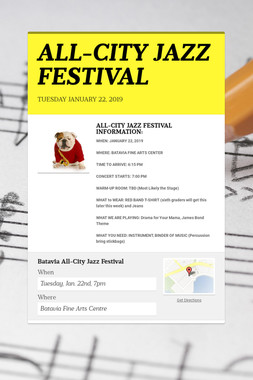 ALL-CITY JAZZ FESTIVAL