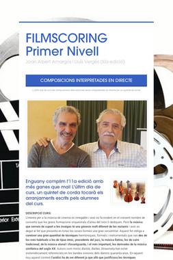 FILMSCORING  Primer Nivell