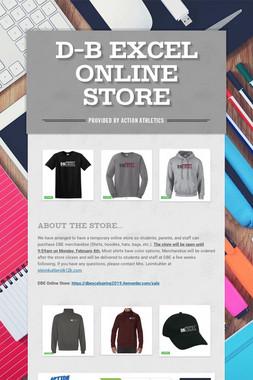 D-B EXCEL Online Store
