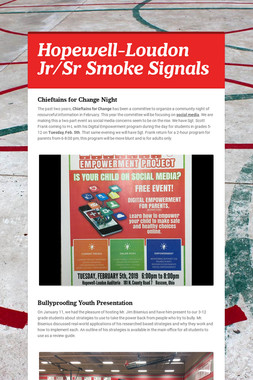 Hopewell-Loudon Jr/Sr Smoke Signals