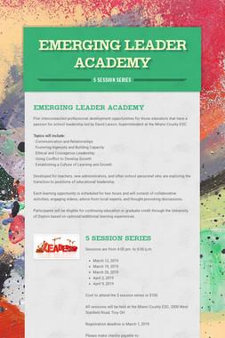 Emerging Leader Academy