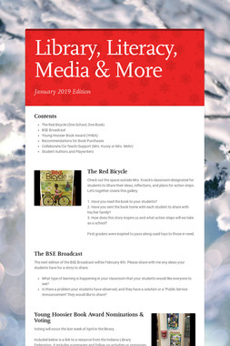 Library, Literacy, Media & More