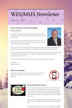 WES/MHS Newsletter