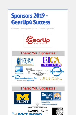 Sponsors 2019 - GearUp4 Success