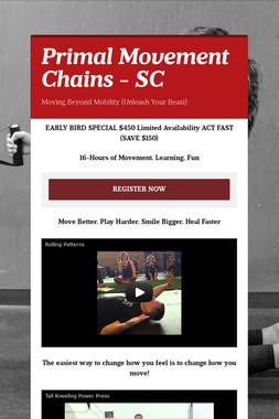 Primal Movement Chains - SC