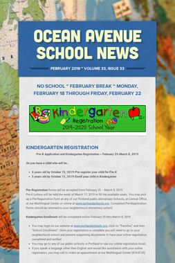 Ocean Avenue School News