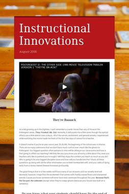 Instructional Innovations