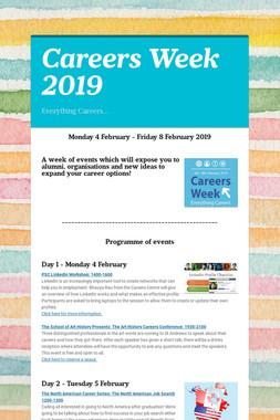 Careers Week 2019