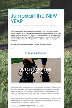 Jumpstart the NEW YEAR