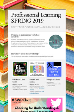 Professional Learning SPRING 2019