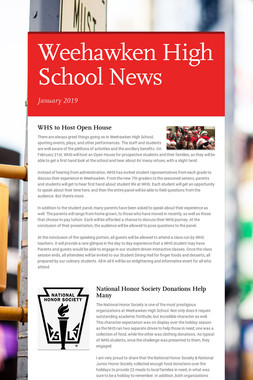 Weehawken High School News