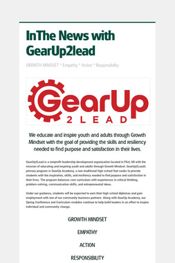 InThe News with GearUp2lead