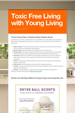 Toxic Free Living with Young Living