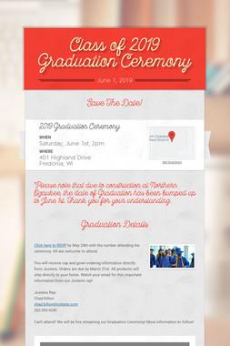 Class of 2019 Graduation Ceremony