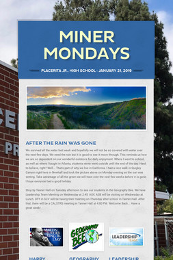 Miner Mondays