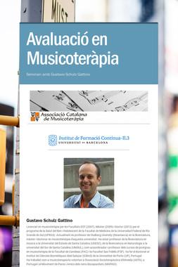 Avaluació en Musicoteràpia