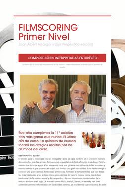 FILMSCORING  Primer Nivel