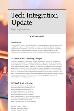 Tech Integration Update