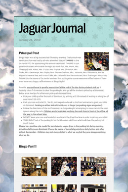Jaguar Journal
