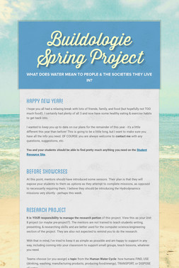 Buildologie Spring Project