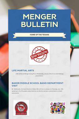 Menger Bulletin
