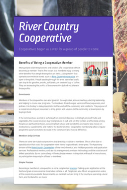 River Country Cooperative