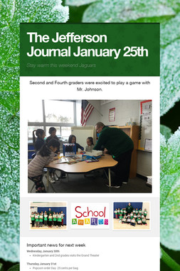 The Jefferson Journal January 25th