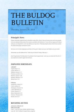 THE BULDOG BULLETIN