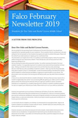 Falco February Newsletter  2019