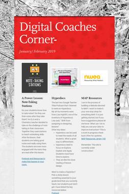 Digital Coaches Corner-