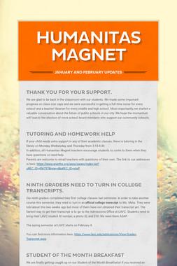 Humanitas Magnet