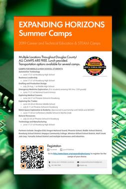 EXPANDING HORIZONS SUMMER CAMPS