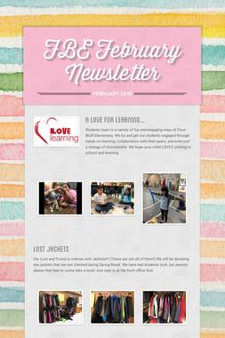 FBE February Newsletter