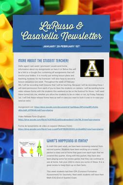 LaRusso & Casarella Newsletter