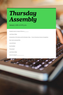 Thursday Assembly