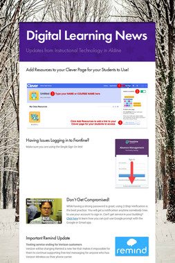 Digital Learning News