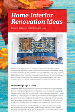 Home Interior Renovation Ideas