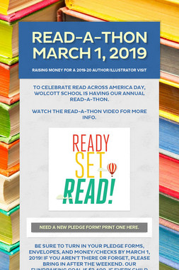 Read-a-Thon March 1, 2019
