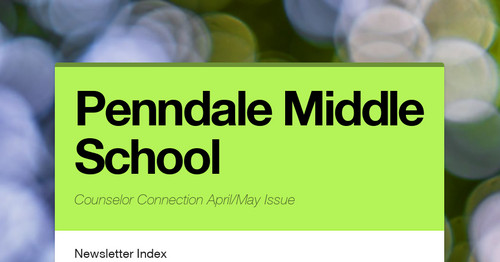 Penndale Middle School | Smore Newsletters for Education