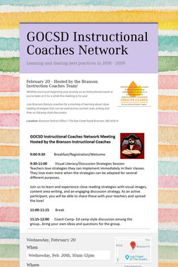 GOCSD Instructional Coaches Network