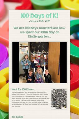 100 Days of K!