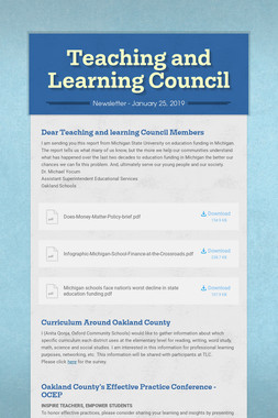 Teaching and Learning Council