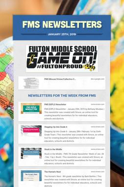 FMS Newsletters
