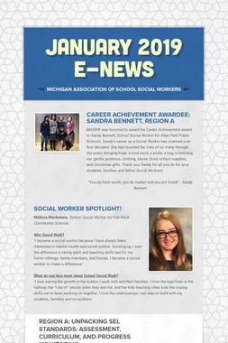 JANUARY 2019 E-NEWS