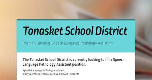 Tonasket School District