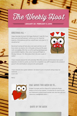 The Weekly Hoot