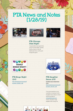 PTA News and Notes (1/28/19)