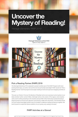 Uncover the Mystery of Reading!