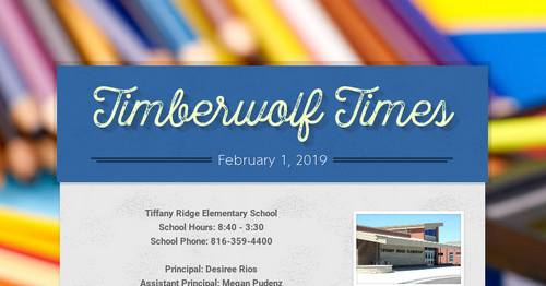 Timberwolf Times   Smore Newsletters for Education