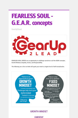 FEARLESS SOUL - G.E.A.R. concepts